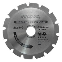 Nailed Wood Saw Blades