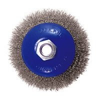 Crimped Wire Bevel Wheel