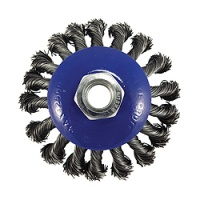 Twist Knot Wire Bevel Wheel