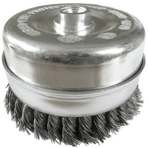 120mm Wire Twist Knot Cup Brush M14