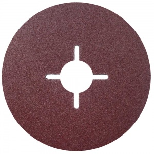 115mm Fibre Sanding Disc 60 Grit