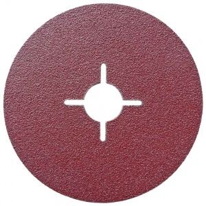 115mm Fibre Sanding Disc 80 Grit