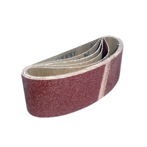 60mm x 400mm Sanding Belt 120 Grit Pack of 5