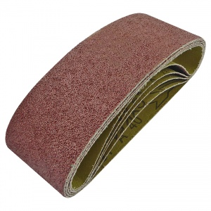 60mm x 400mm Sanding Belt 40 Grit Pack of 5
