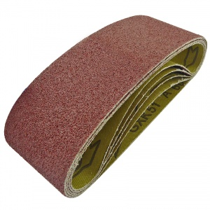 60mm x 400mm Sanding Belt 60 Grit Pack of 5