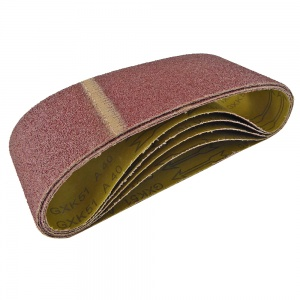 100mm x 610mm Sanding Belt 24 Grit Pack of 5