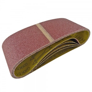 100mm x 610mm Sanding Belt 60 Grit Pack of 5
