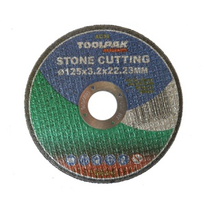 125mm x 3.2mm x 22.23mm Stone Cutting Disc
