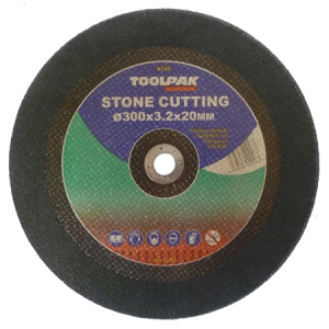 300mm x 3.2mm x 20mm Stone Cutting Disc