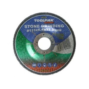115mm x 6.4mm x 22.23mm Stone Grinding Disc