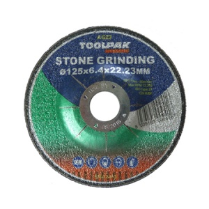 125mm x 6.4mm x 22.23mm Stone Grinding Disc