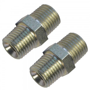 1/4'' BSP Male Air Line Equal Union Pack of 2