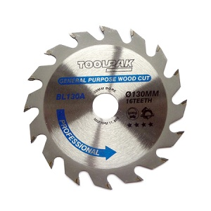 130mm x 20mm x 16T Professional TCT Saw Blade