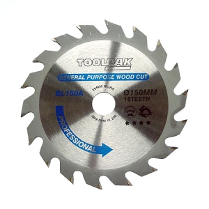 150mm x 20mm x 18T Professional TCT Saw Blade