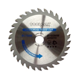 150mm x 20mm x 30T Professional TCT Saw Blade