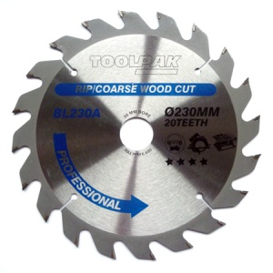 230mm x 30mm x 20T Professional TCT Saw Blade