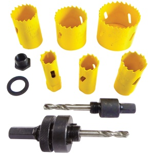 Electricians Holesaw Set