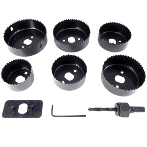 Downlighter Holesaw Set