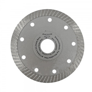 115mm x 22.23mm Tile Diamond Blade 10mm Turbo Rim