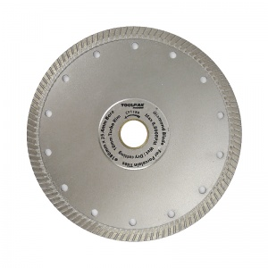 180mm x 25.4mm Tile Diamond Blade 10mm Turbo Rim