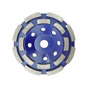 110mm Double Row Diamond Grinding Cup Wheel