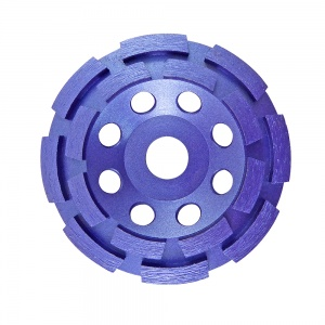 115mm Double Row Diamond Grinding Cup Wheel