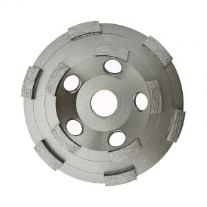 125mm Double Row Diamond Grinding Cup Wheel