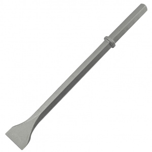 75mm x 450mm Hex Shank 1.1/4'' Wide Chisel