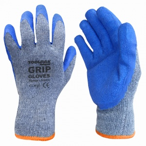 Crinkle Latex Grip Handling Glove Size XL