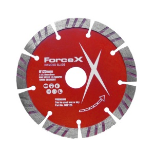 125mm x 22.23mm Diamond Blade 10mm Turbo Segment