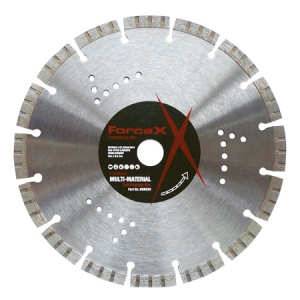 230mm x 22.23mm Multi-Material Diamond Blade 10mm Turbo Segment