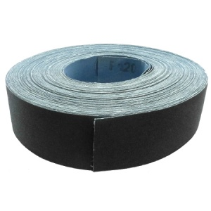50mm x 50m Emery Cloth Roll 120 Grit