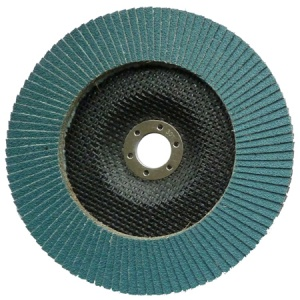 180mm Zirconium Flap Disc 80 Grit