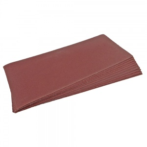 93 x 230mm Sanding Sheet 120 Grit Pack of 10