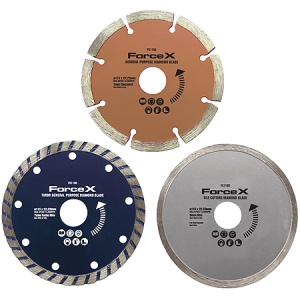 3 Piece 115mm Diamond Blade Set