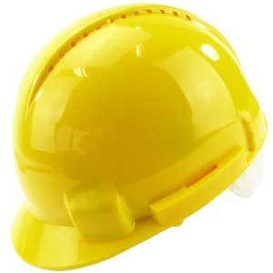 Vented Safety Helmet Yellow