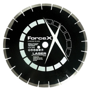 350mm x 25.4mm Asphalt/Concrete Diamond Blade 10mm Segment