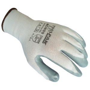 Nitrile Coated Gloves Size L
