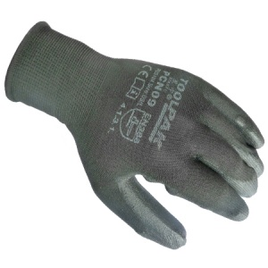 PU Palm Coated Gloves Size L