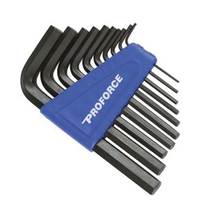 10-Piece Imperial Hex Key Set