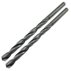 5.0mm x 86mm HSS Roll Forged Jobber Drill Pack of 2