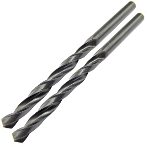 6.0mm x 93mm HSS Roll Forged Jobber Drill Pack of 2