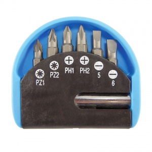 7-Piece Screwdriver Bit Set