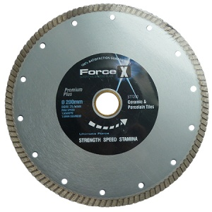 200mm x 25.4mm Tile Diamond Blade 7.5mm Turbo Rim