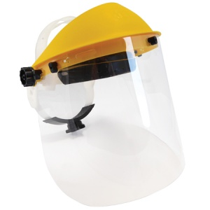 Face Shield Set - Clear and Mesh Visor