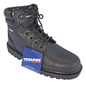 Black Safety Boots - Size 9
