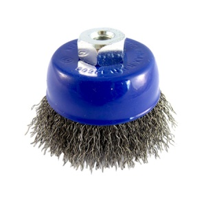 75mm Wire Crimped Cup Brush M10