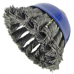 65mm Wire Twist Knot Cup Brush M10