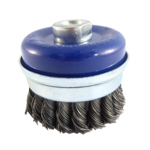 80mm Wire Twist Knot Cup Brush M14