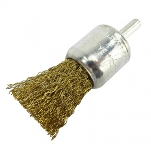 24mm Wire Crimped End Brush